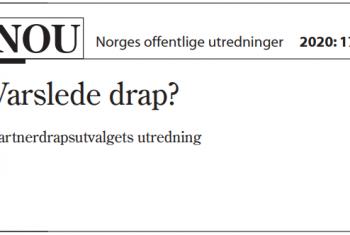 Bilde NOU Varslede drap?