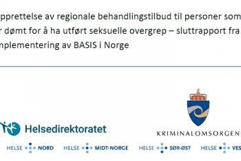 Bilde BASIS sluttrapport tittel og logoer
