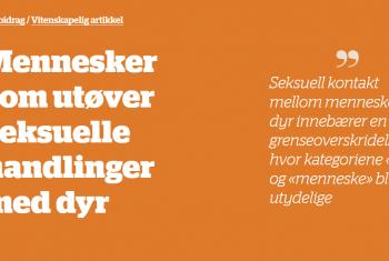Bilde Toidsskrift for norsk psykolog